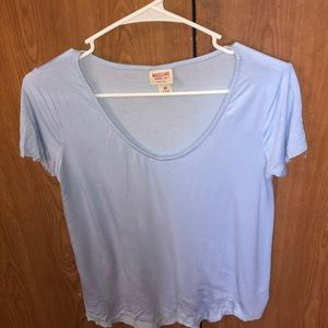 Xs light blue comfy T shirt